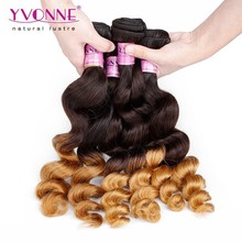 8-30 Inches Peruvian Loose Wave Grade 5A Cheap Ombre Hair Extensions