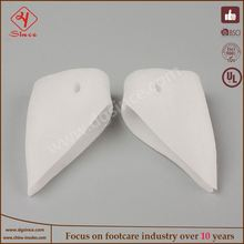 china supplier 2 x gel silicone toe bunion protector straightener separator correctors cushion