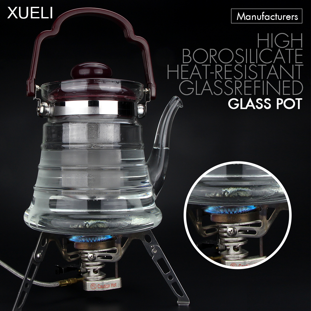 2017 hot new products Custom Tea kettle coffee pot Glass tea electric kettle