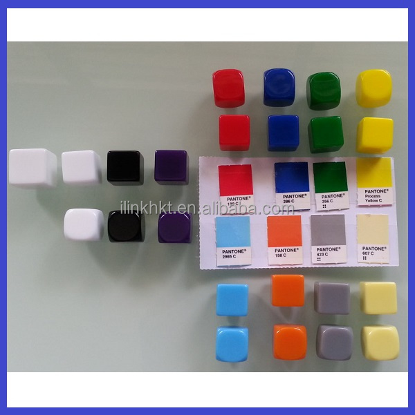 Color Custom blank dices