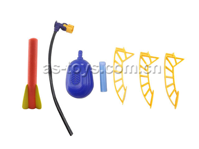 funny outdoor game children air pump stomp rocket new toy with low price