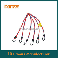 NEW Design 6pcs Banner Bungee Cords with Metal Ring