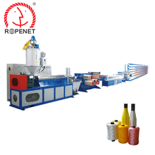 top quality plastic flat yarn/danline extruding machine line