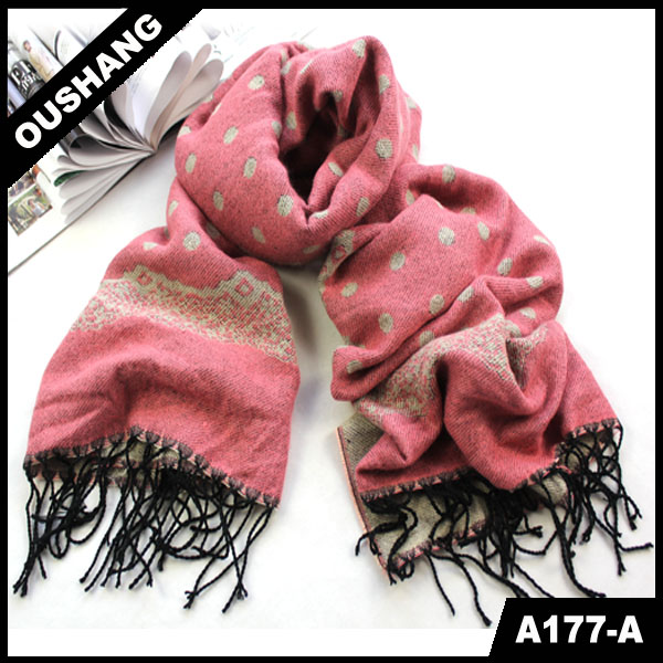 A177-A Christmas Infinity Scarf 2014