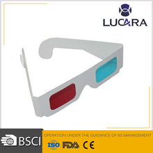 Top Quality Logo Printed Cheap Paper Anaglyph 3D Glasses