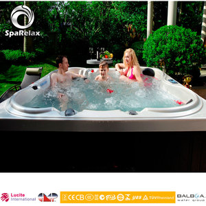 6 Person Copper Bathub Cedar Hot Tubs Made In China
