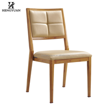 Wholesales commercial hotel restaurant furniture metal upholstered modern restaurant chair for sale used