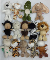 12 styles lion , tiger ,graffie , various forest toys /stuffed heart toy teddy bear