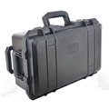 Plastic tool box updated version PK aluminum storage case ,gun case aluminum ,tool carrying case with handle and foam similar