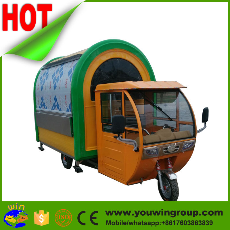 cute size mobile restaurant truck, pizza truck