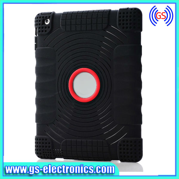 Soft silicone case for ipad mini case accept paypal payment