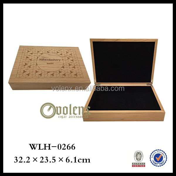 High quanlity wooden cigar matches box