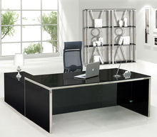 glass office table,office executive glass table modern,high end glass desk MR-DB030