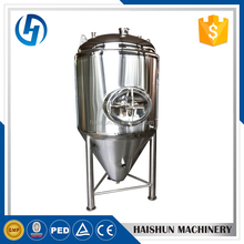 dimple cooling jacket beer fermenter