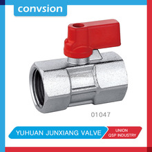 "Junxiang 01047 hot sale Air Female/Male Full Ports brass 1/2""-4"" water ball valve"