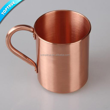 manufacturer moscow mule copper mug, western style pure copper mug