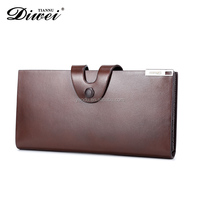 High quality Unisex Gender leather Material craft wallets with card holder