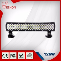 cheap price Dual row 126w led light bar 110v led light bar with truck led light bar