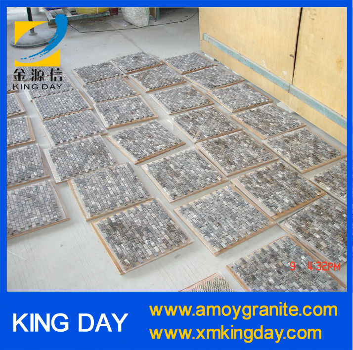 light and dark emperador marble mosaic(Factory Directly)