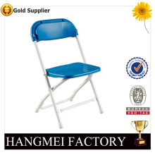 cheap outdoor plastic used metal folding chair for sale