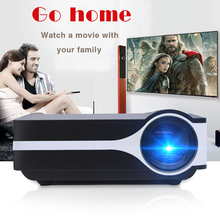 mini led portable digital hd home movie beamer projector