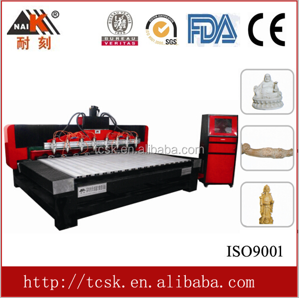 2016 hot sale high quality multi-spindles 9STC-2412-8 woodworking machine center