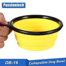 Super Deal dog bowl,Dog Cat Pet Travel Bowl Silicone Collapsible Feeding Water Dish Feeder portable water bowl