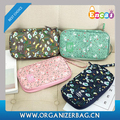 Encai Travel Passport Bags For Ticket & Cards Holder Floral Passport Wallet