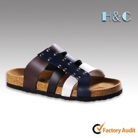 HC-317 2014 three straps women fashion foam sole sandal
