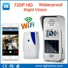 2016 New real time video door phone WIFI smart door bell with wireless HD 720P Doorbell camera Free APP