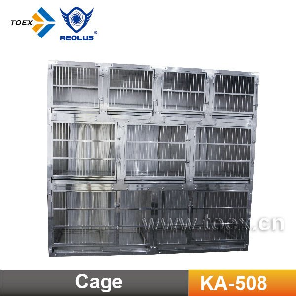 KA-508 Heavy duty Stainless Steel Modular Dog Cage for sale cheap