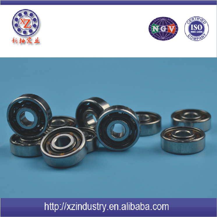 Motorcycle engine bearing 6301 zz OEM steel ball bearing