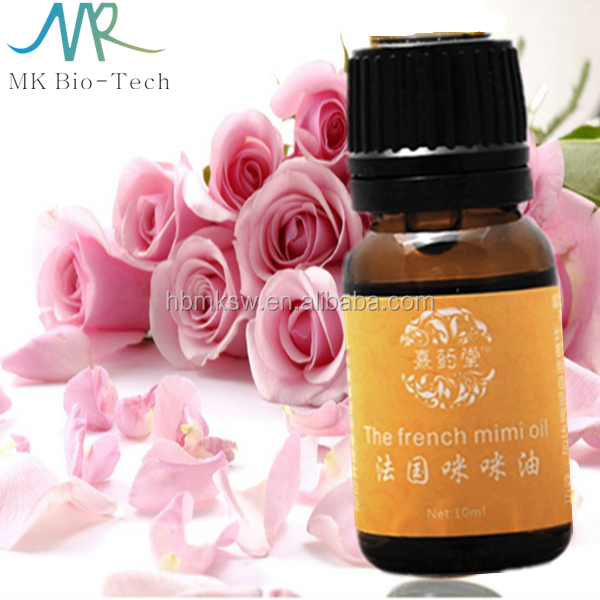 hot selling natural herbal breast massage oil for women / Rose essence breast enhancement essential oil