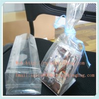customized recyclable food plastic bopp packing bag/square bottom bag