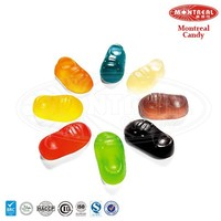 Tasty shoes gummy candy vitamins