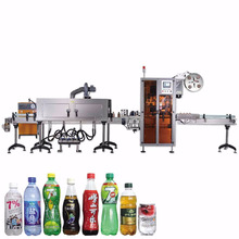 New manual heat plastic bottle shrink wrapping machine HTB-100 automatic labeling machine price