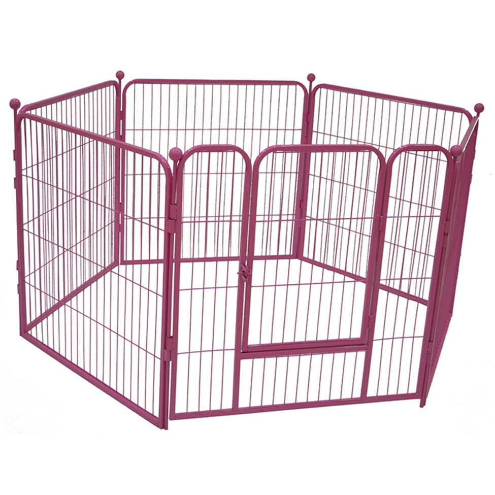 Folding dog Playpen aluminum dog exercise pen wholesale MHD011