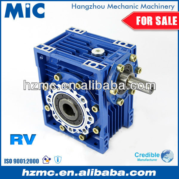 Industrial Power Transmission NRV030 Aluminium Alloy Engine Speed Reduction Gearbox