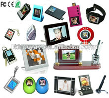 Chinese Factory produced 1.5 inch Small Size Keychain digital picture viewer to 32 inch big size digital photo viewer