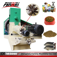 Exported to Philippines pellet mill feed extrusion / animal feed manufacturing equipment