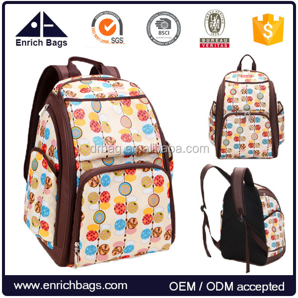 ENRICH new design adult diaper bag daily baby backpack