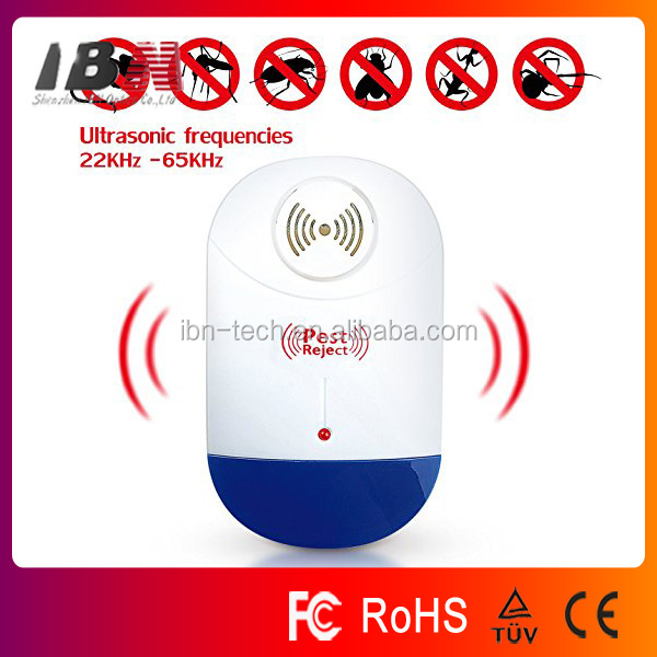 ultrasonic pest repellent, Electronic Plug In Repellent for Insects, Roaches , Flies, Ants, Spiders