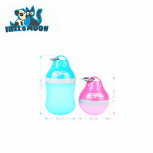 Lovable Portable Dog Travel Water Drink Silicone Bottle Bowl For Pet