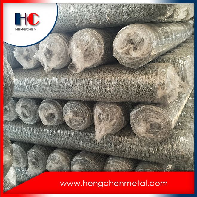 Cheap fish trap stone cage nets galvanized hexagonal wire mesh