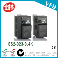 Shihlin 0.5hp 0.4kw 220v 50hz60hz three phase variable speed drive
