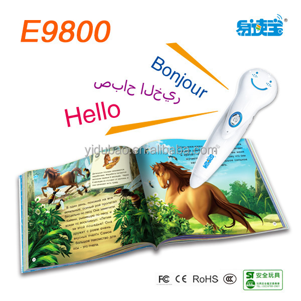 Spanish language translator, educational toys for kids,point read pen for language learning
