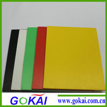 5mm 1560mm*3050mm building plastic slats color pvc foam board