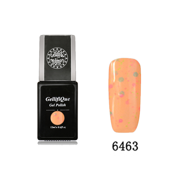 Nail Art UV Gel Nail Colour Polish 6463 , texture colour for nail design, OEM and Wholesale