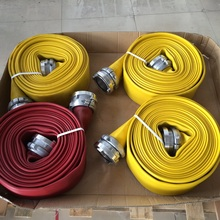 6 inch nbr durable flexible used fire hose