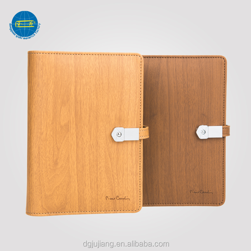 2018 Diary Chinese Style A6 Notebook With Power Bank And USB Flash Drive
